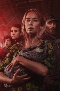 480x800 A Quiet Place Part II 8k