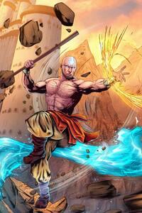 Aang Avatar Artwork 5k