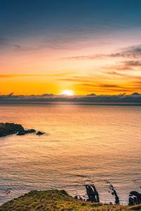 Aberdeen Coast Sunrise Scotland 5k