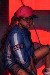 Abigail Knd Cyberpunk Girl 4k