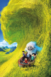1125x2436 Abominable 2019 Animated Movie 8k