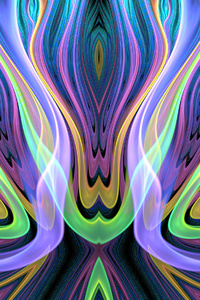 320x480 Abstract Artistic Pattern 4k