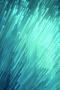 Abstract Blue Glass 4k
