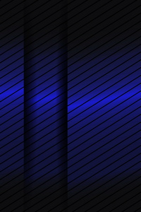 Abstract Blue Gradient Lines 3d