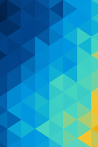 540x960 Abstract Blue Yellow