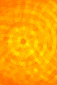 Abstract Circle Orange Rings