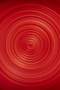 1125x2436 Abstract Circle Red 4k