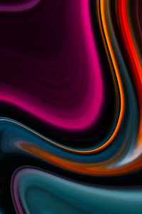 1242x2688 Abstract Color Flow 8k