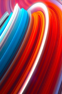 Abstract Colorful Lines