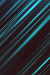 Abstract Dark Glowing Lines 4k