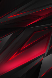720x1280 Abstract Dark Red 3d Digital Art