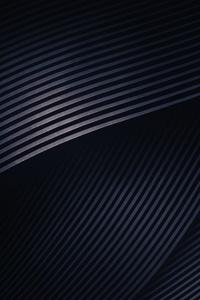 Abstract Dark Shapes Light 4k