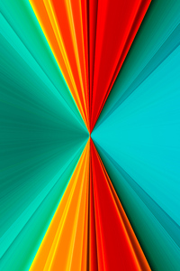 1242x2688 Abstract Glass Shine Colors 8k
