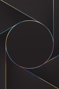640x1136 Abstract Lines Circle