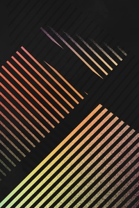 Abstract Lines Shapes 4k