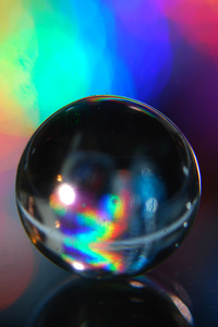 750x1334 Abstract Macro Water Crystal Globe 4k
