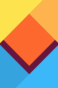 480x800 Abstract Material Design 4k