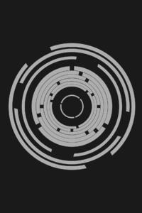 Abstract Minimalism Circle