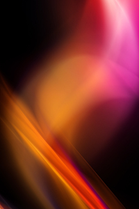 640x960 Abstract Orange Art 4k
