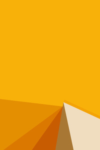 1440x2560 Abstract Orange Shapes