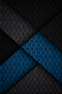 720x1280 Abstract Pride Blue 4k