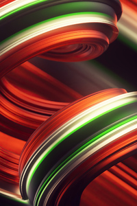 360x640 Abstract Red Colorful 4k