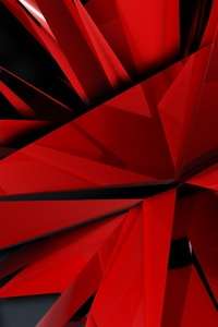 320x568 Abstract Sharp Shapes Diagonal Geometry