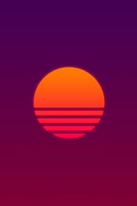 720x1280 Abstract Sun 8k