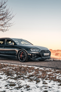 1080x2160 ABT Audi RS 4 Avant 4k
