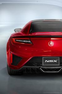 Acura NSX 2017 4k