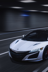 480x854 Acura NSX 2019 Front
