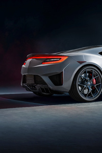 Acura NSX Supercar Rear