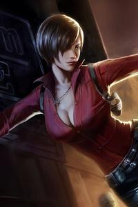 Ada Wong Resident Evil 2 4k Art