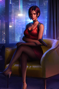 1080x1920 Ada Wong Resident Evil 2 Fictional Character 4k
