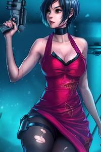 640x960 Ada Wong Resident Evil 5k