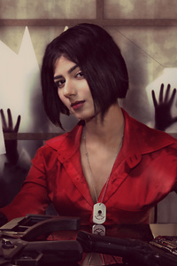 720x1280 Ada Wong Resident Evil Cosplay