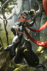 800x1280 Adalia Fantasy Girl
