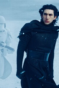 1080x2280 Adam Driver In Star Wars