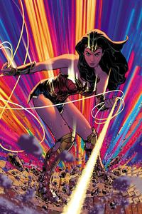 720x1280 Adam Hughes Wonder Woman Cover 4k