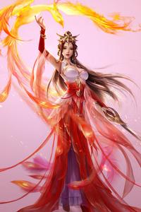 640x960 Adeptus Mechanicus Phoenix Girl Art