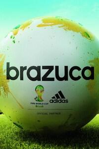 240x400 Adidas Brazuca Football