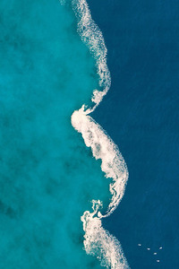 Aerial Blue Ocean