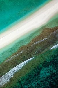 540x960 Aerial View Coast 4k