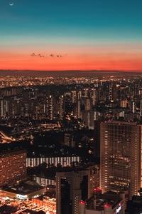 540x960 Aerial View Skyline Of Singapore 5k
