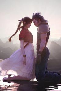 Aerith Gainsborough And Cloud Strife Final Fantasy Xv 5k