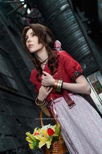 Aerith Gainsborough Final Fantasy Cosplay 4k