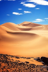 Africa Algeria Desert 4k
