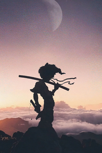 1280x2120 Afro Samurai