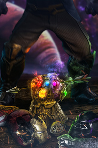 1440x2960 After Infinity War