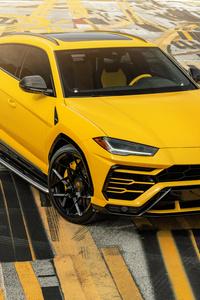 AG MC Yellow Lamborghini Urus